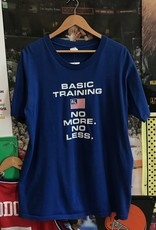 3711ralph lauren basic training tee blue sz L