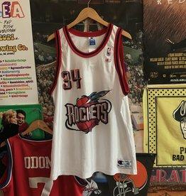Champion Houston Rockets Hakeem Olajuwon Jersey sz 48