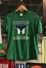 3759hartford whalers tee green sz M