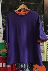 3765champion heavyweight tee purple/orange sz XL