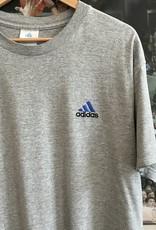 3766embroidered adidas tee gray sz XL