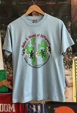 3821world of difference tee blue sz M
