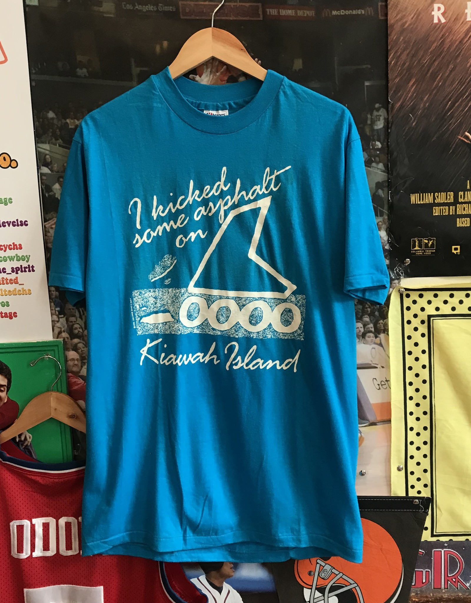 3896kiawah rollerblades tee blue sz L