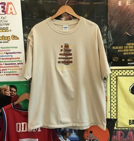 Embroidered So Many Cigars Tee sz XL