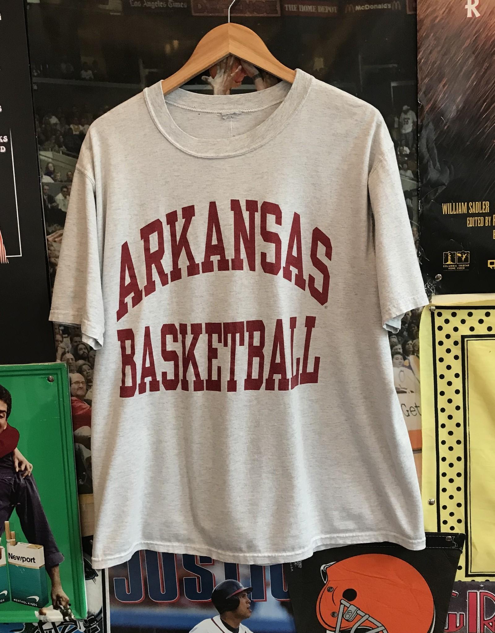 3416arkansas basketball tee ash sz XL