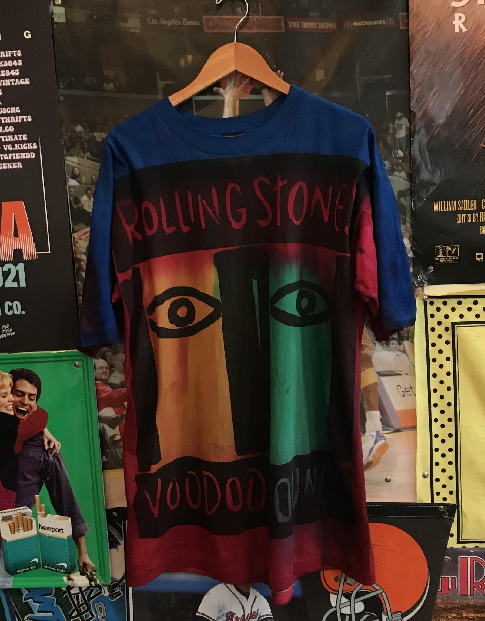 4147rolling stones voodoo lounge tie dye tee sz XL