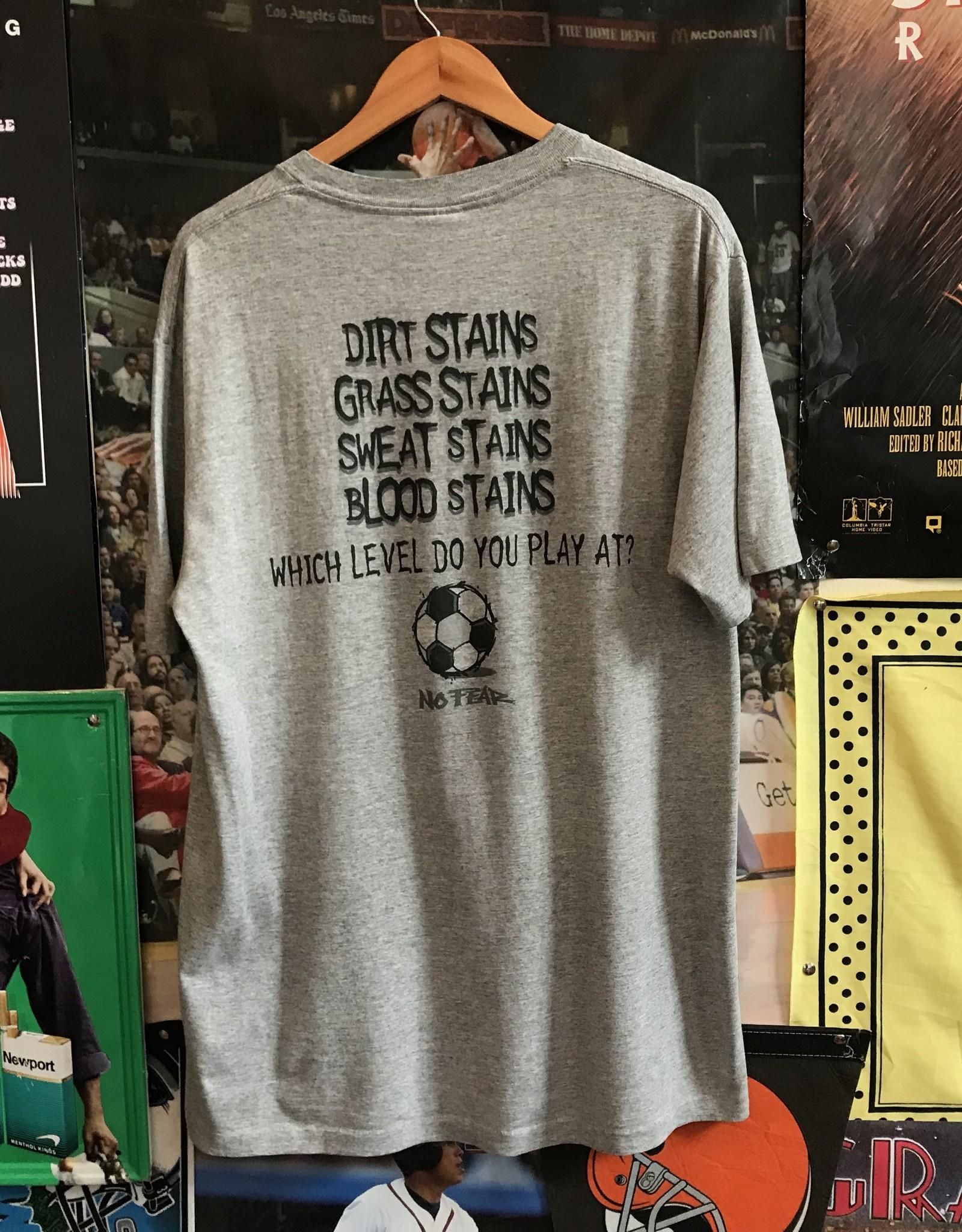 4195no fear soccer tee gray sz L