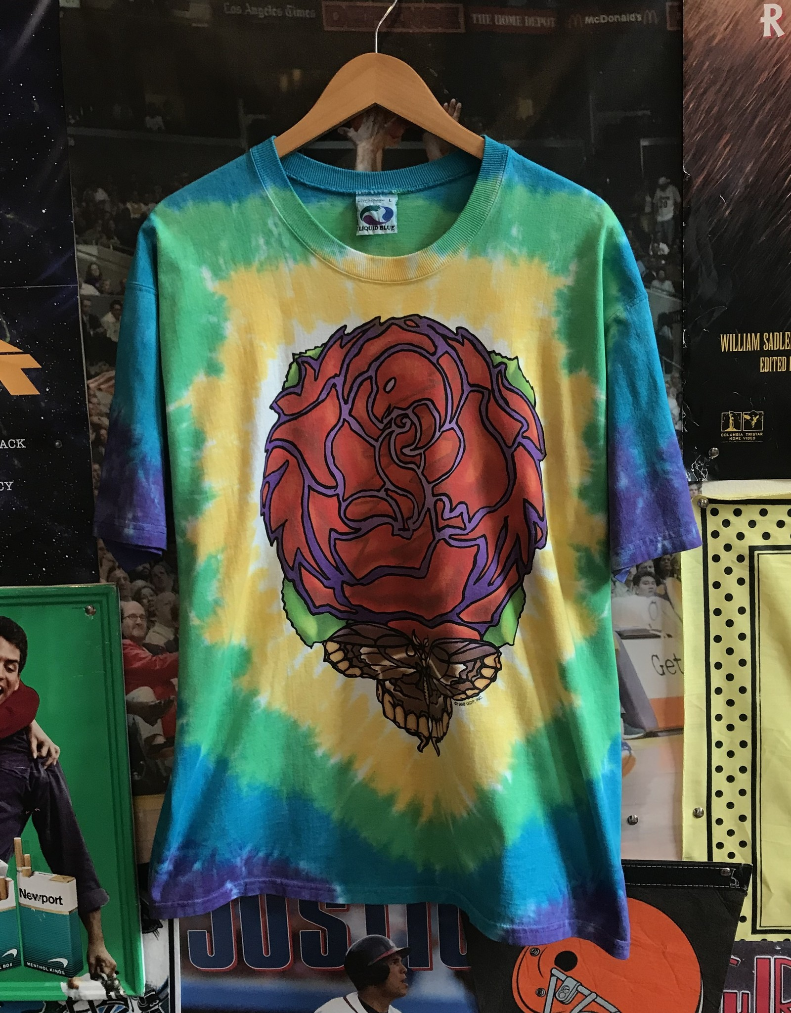 42121998 grateful dead the other ones tie dye tee sz L