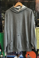 4218nike pocket swoosh hoodie gray sz M