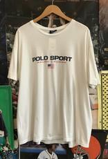 4233polo sport tee white sz XL
