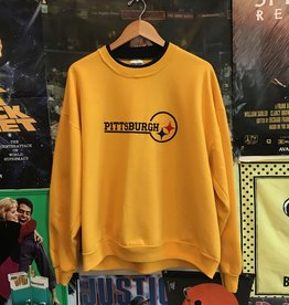 Embroidered Pittsburgh Steelers Crewneck sz XL