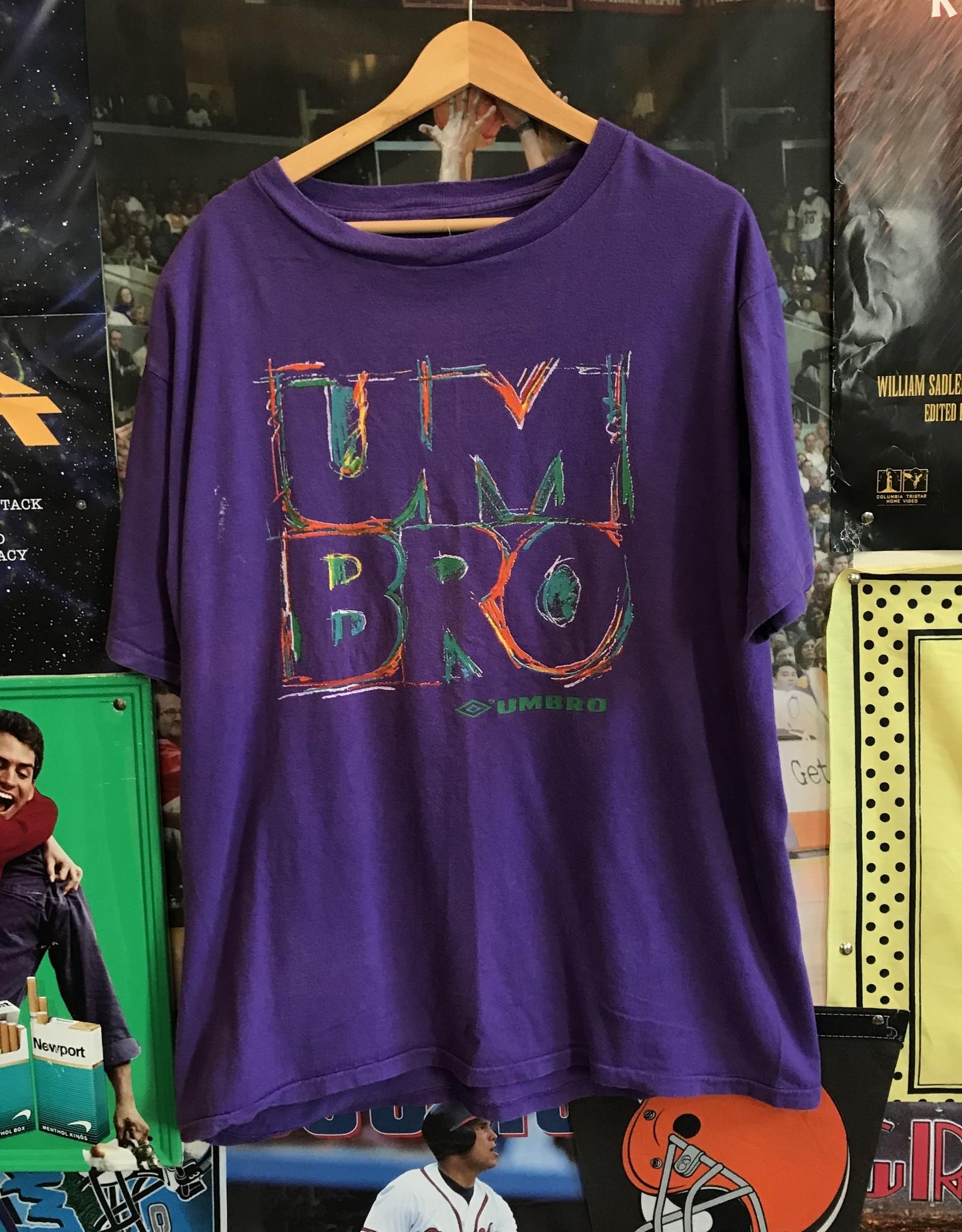 4254umbro purple tee sz. XL