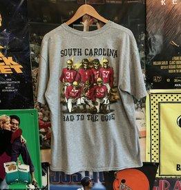 USC Gamecocks Bad to the Bone Tee sz L