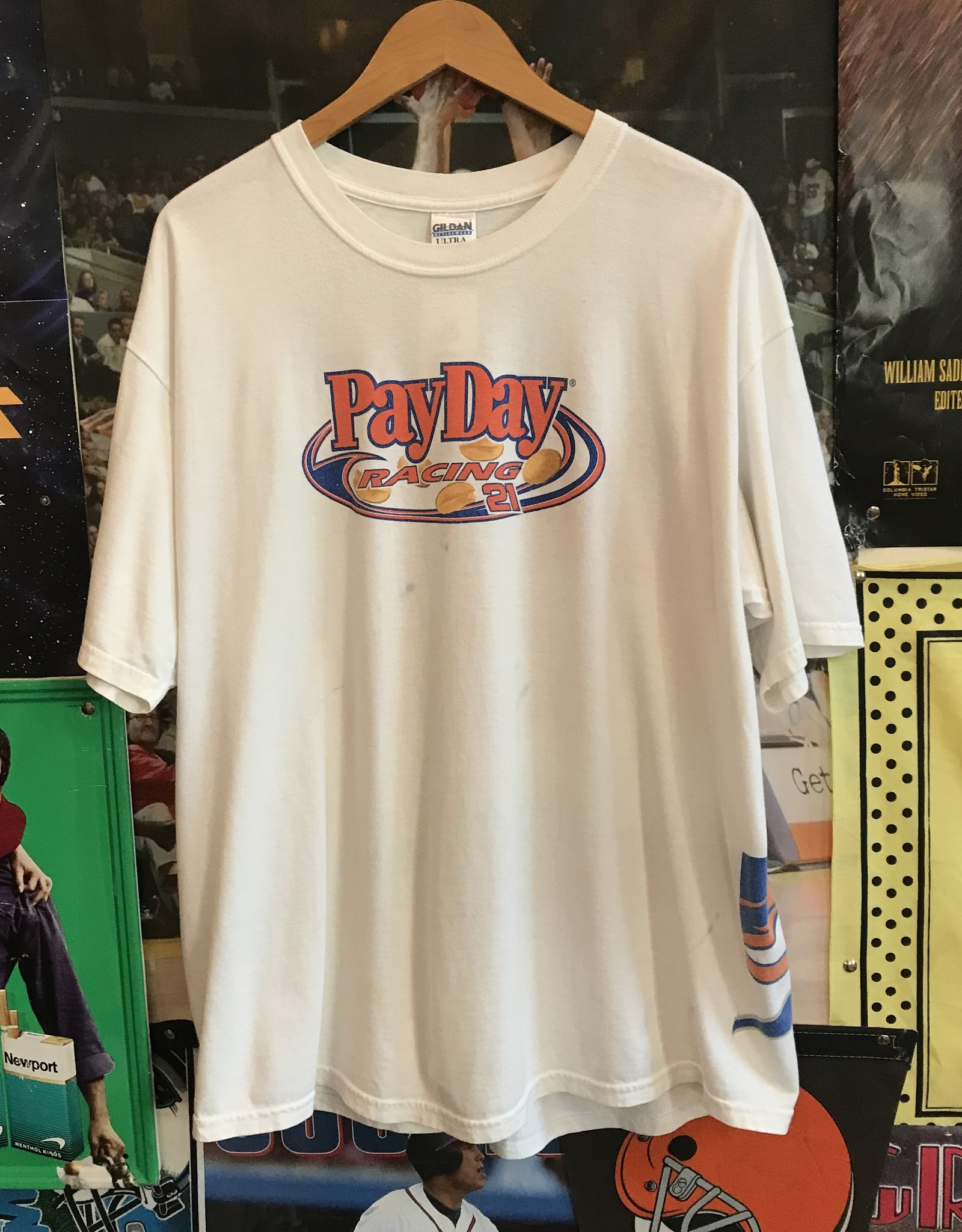 4200kevin harvick payday tee white sz XL