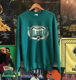 1997 Miami Dolphins Crewneck sz XL