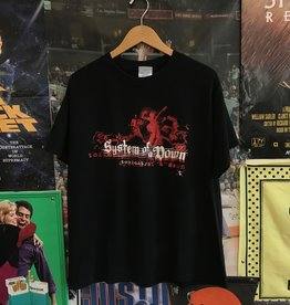 2002 System of a Down Toxicity Tee sz L