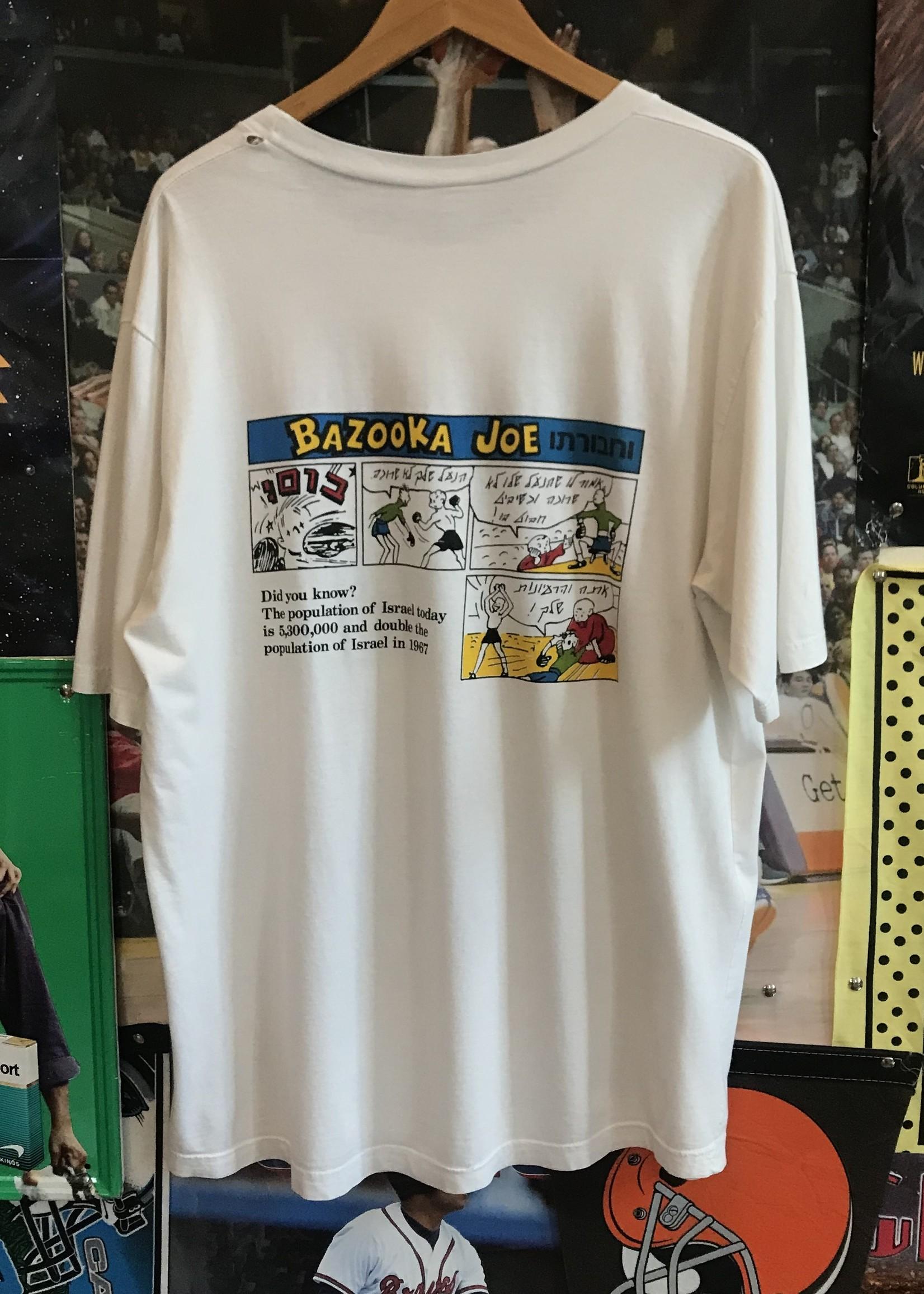 3135bazooka white t shirt sz. XL