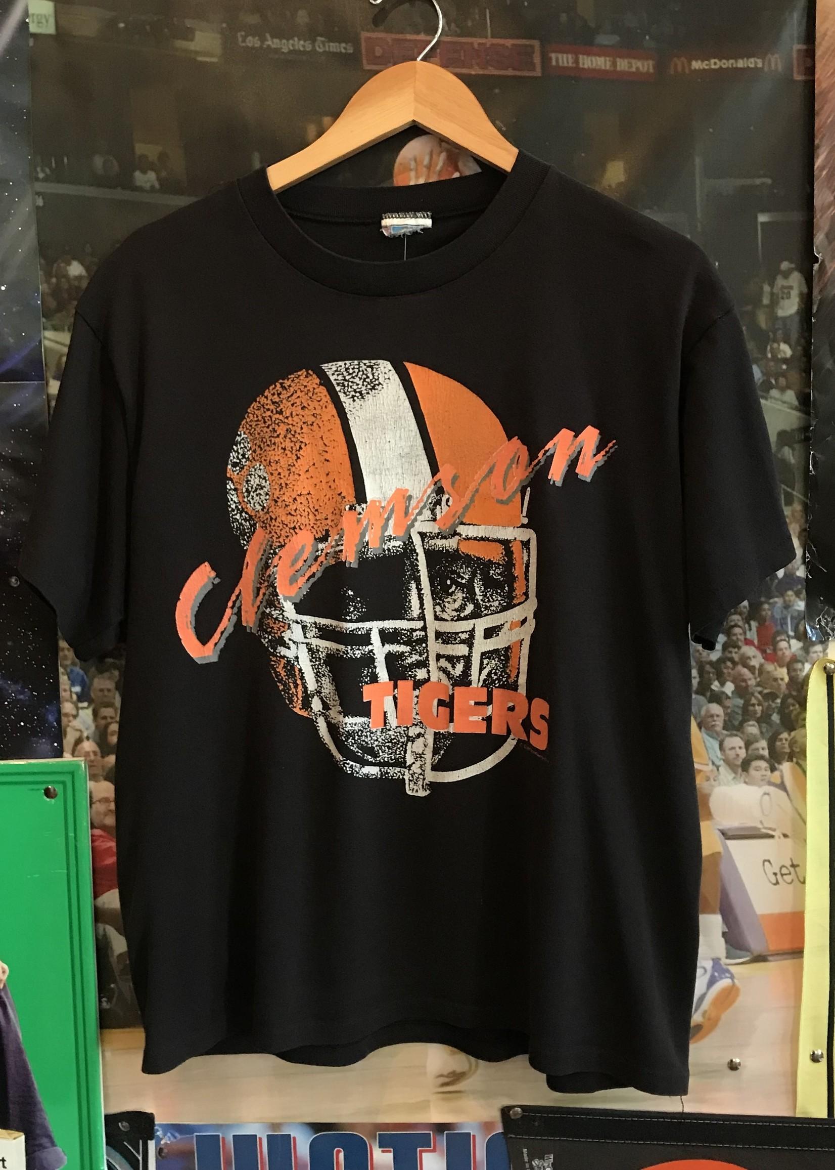 4481clemson tigers helmet tee black sz M
