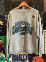 2003 Carolina Panthers NFC Champs Crewneck sz M