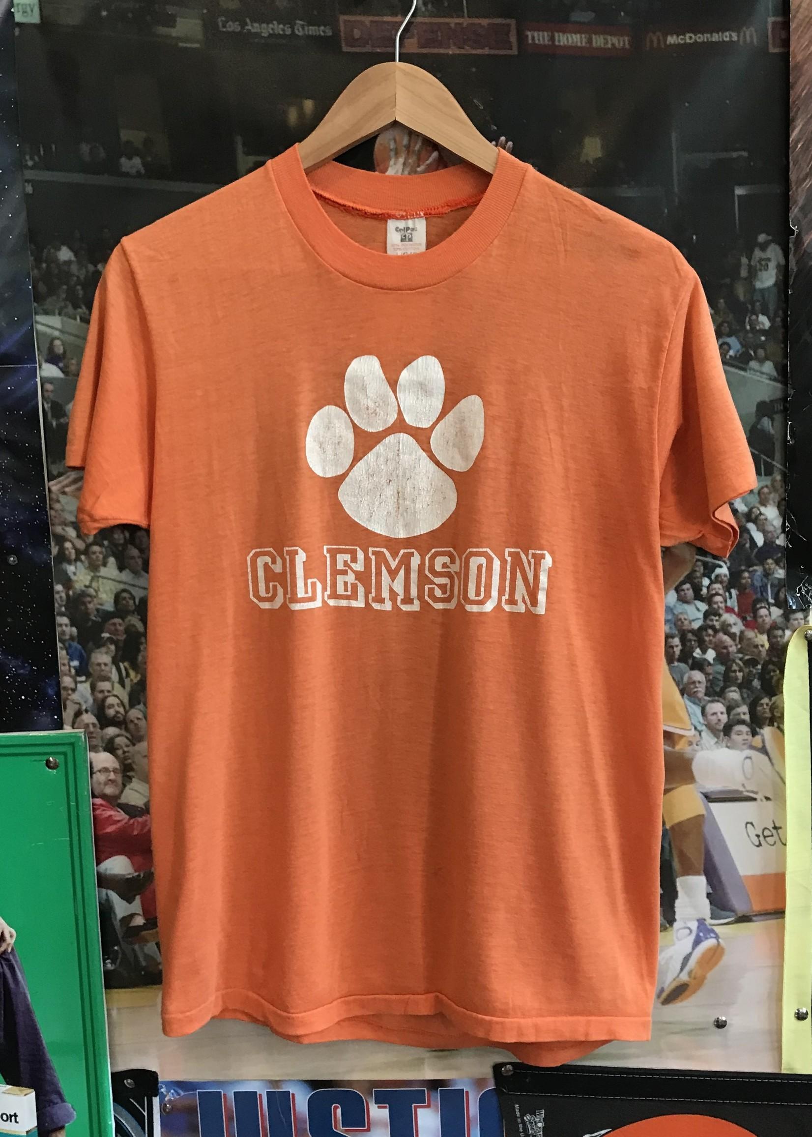 4598clemson tee orange sz M