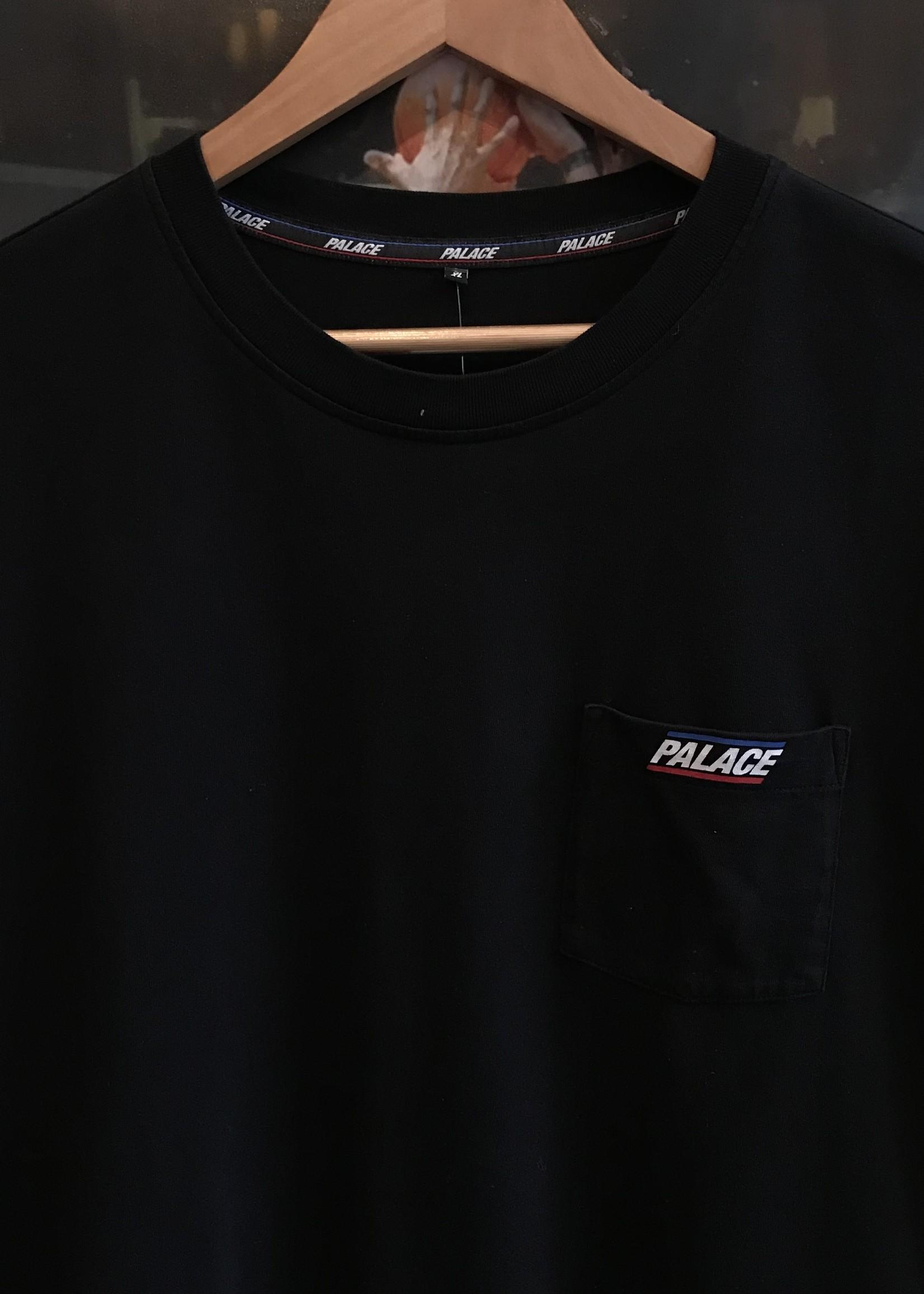 3959palace basically a pocket tee black sz XL