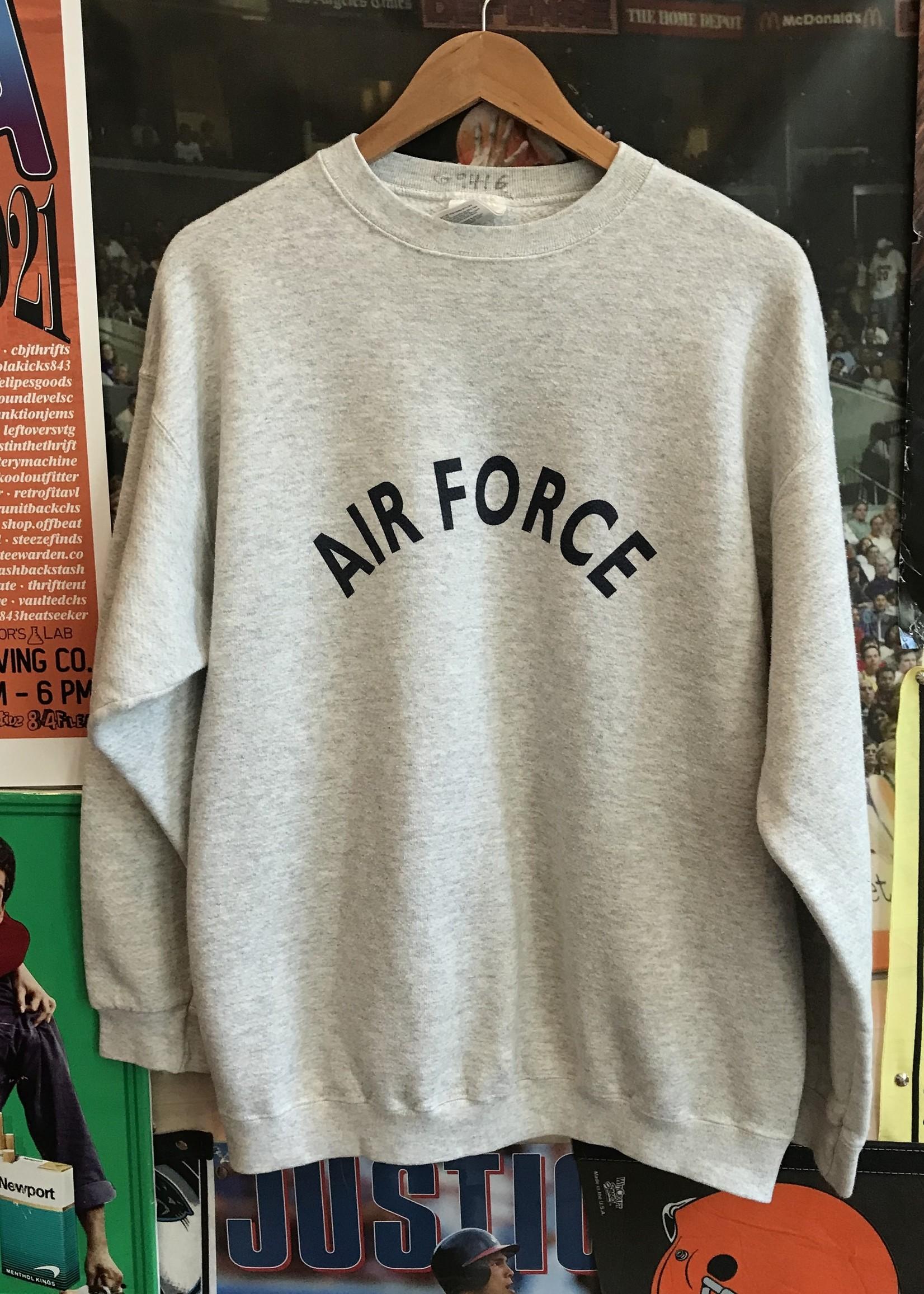 4725air force crewneck sz. L