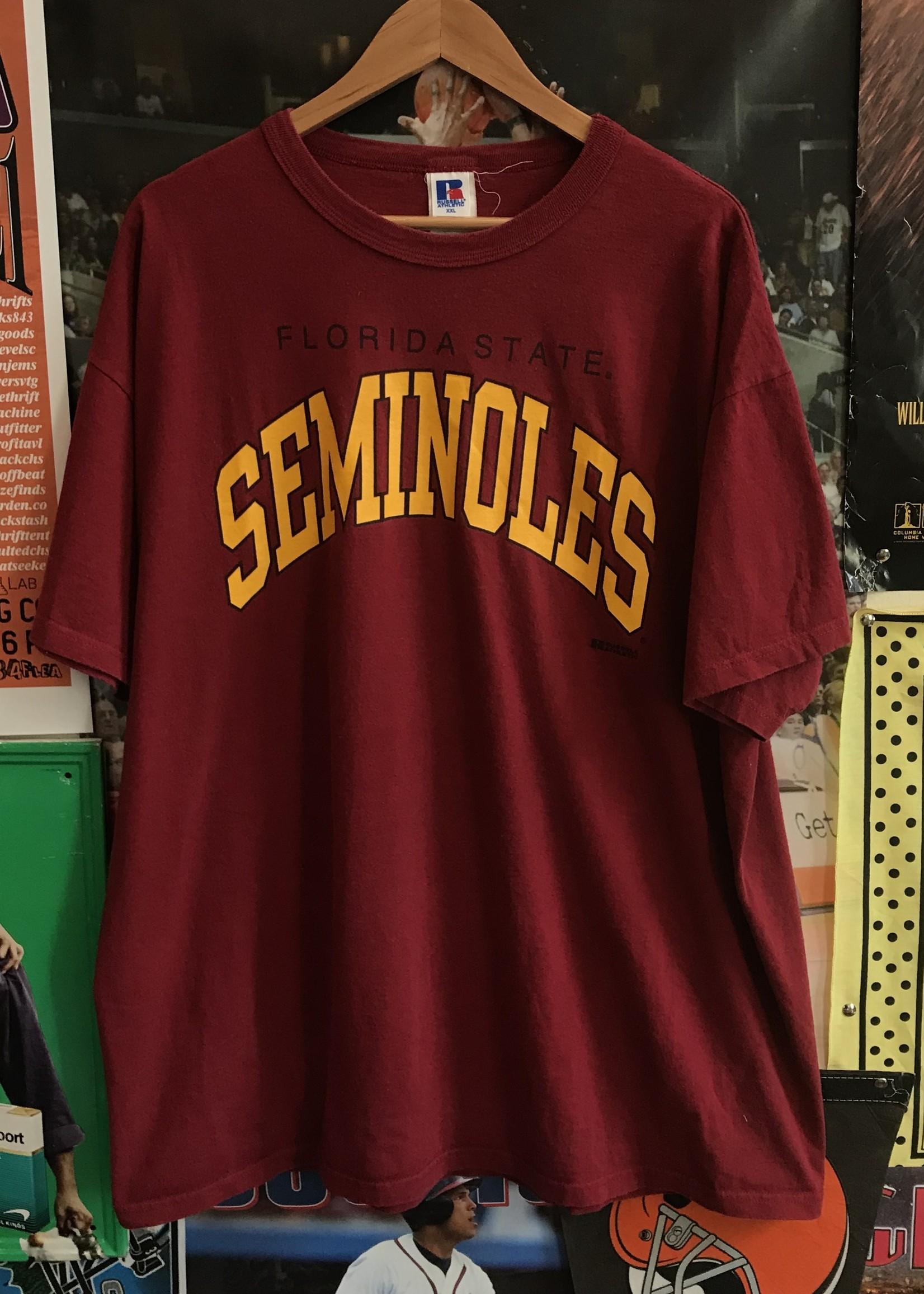 4767fsu seminoles tee white sz XL