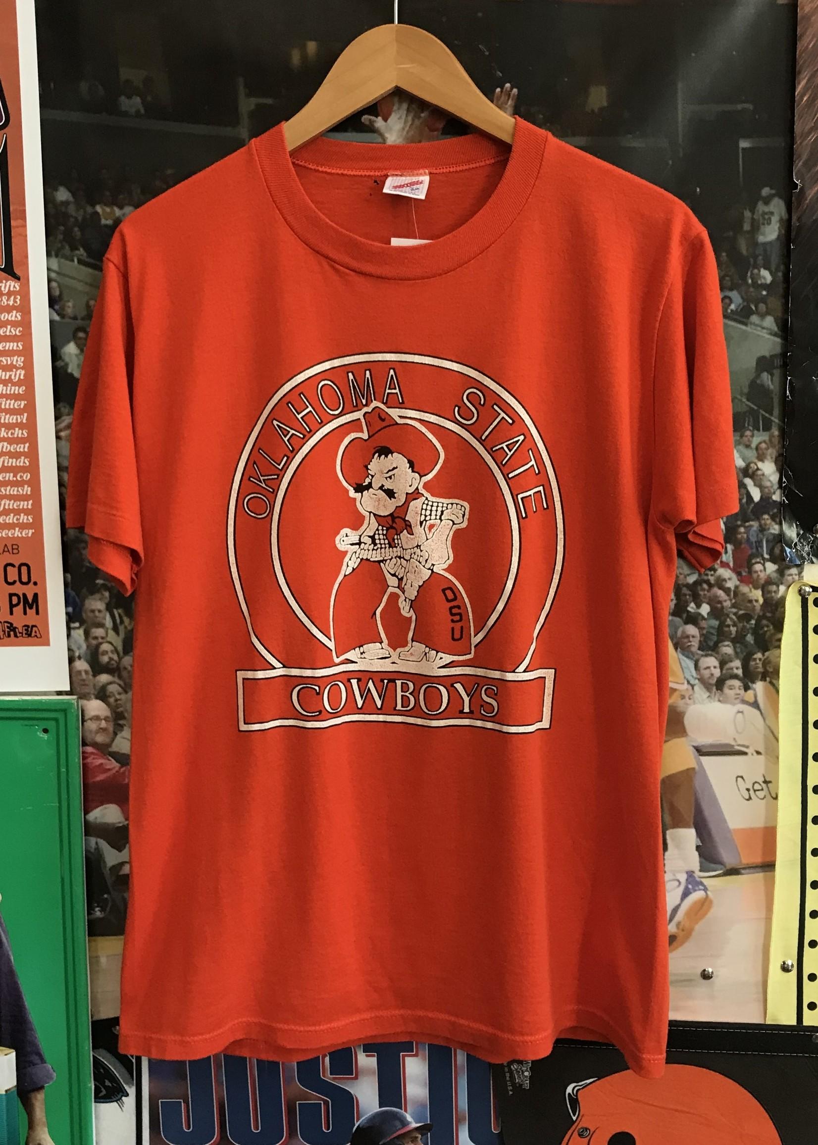 4761osu cowboys tee orange sz L