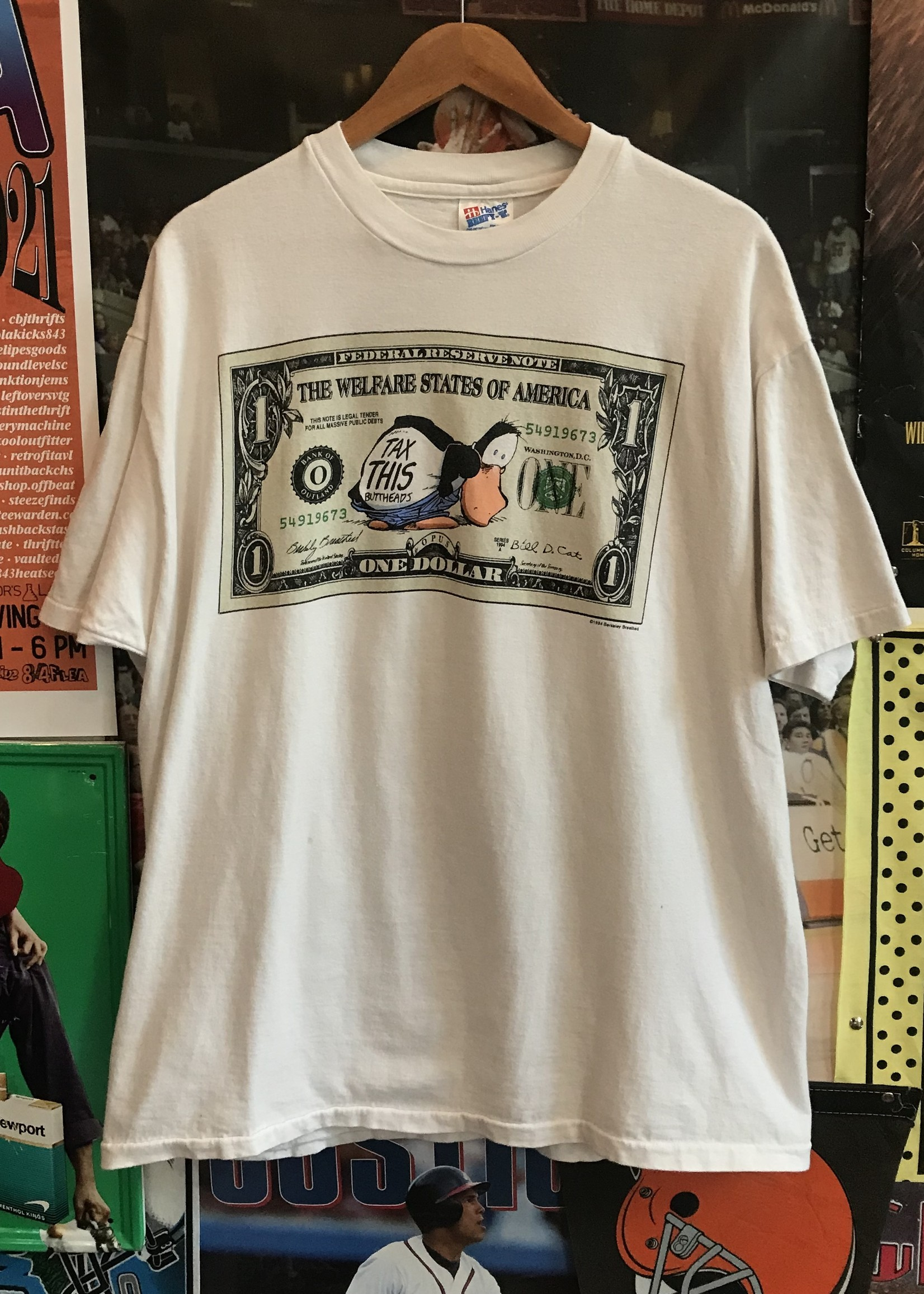 47831994 tax this tee white sz XL