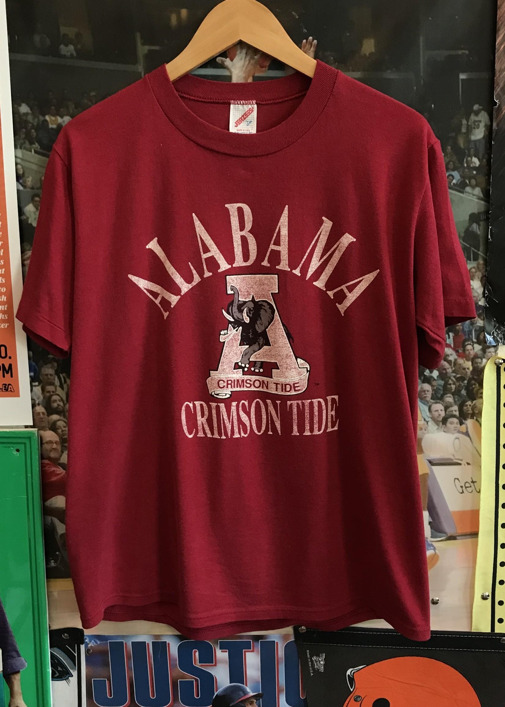 4827alabama crimson tide tee maroons sz L