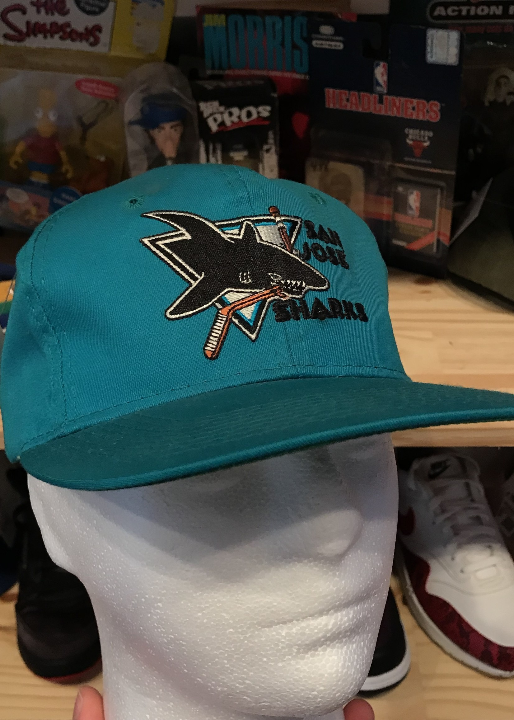 4906san jose sharks hat