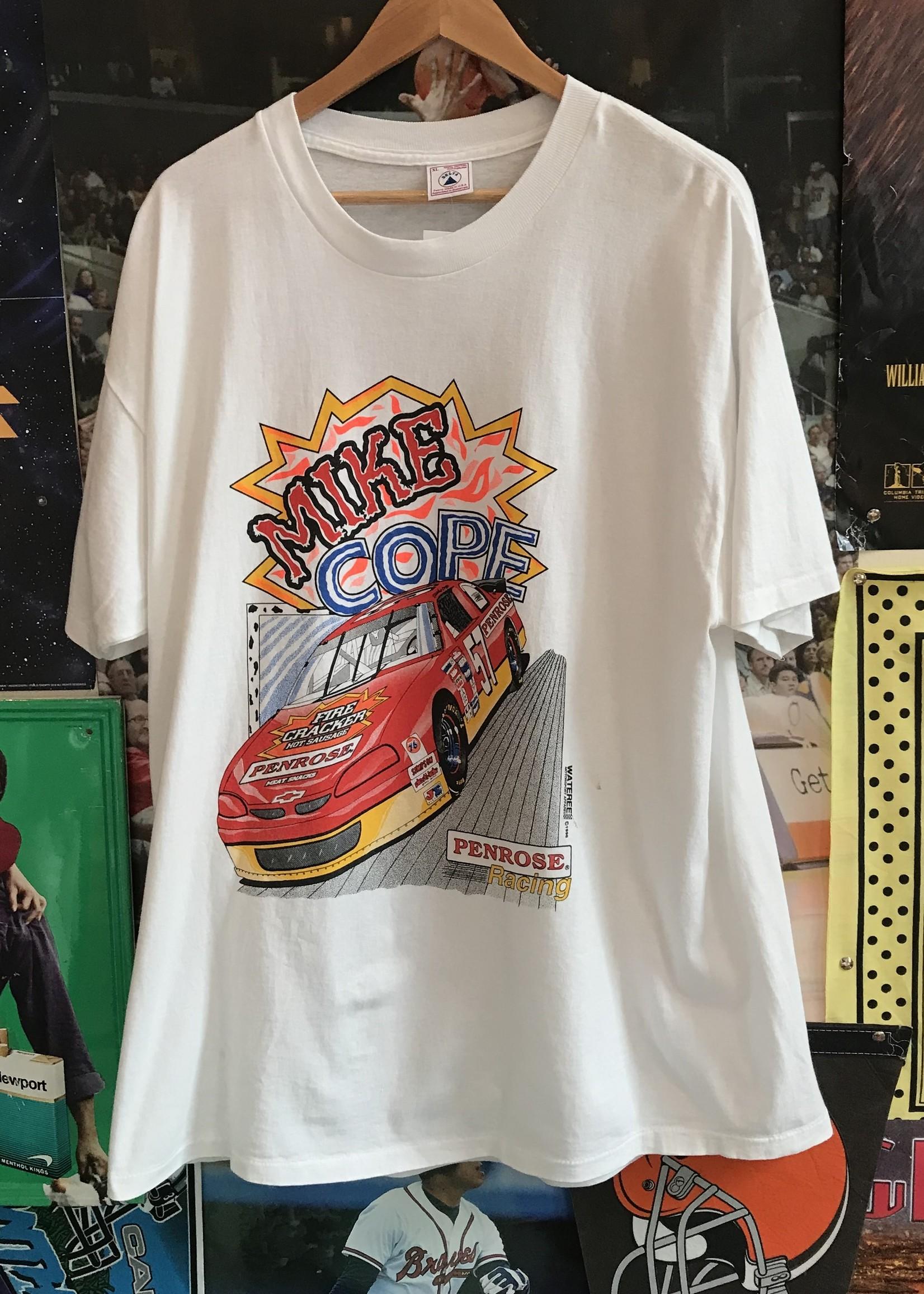50261996 mike cope tee racing white sz XL