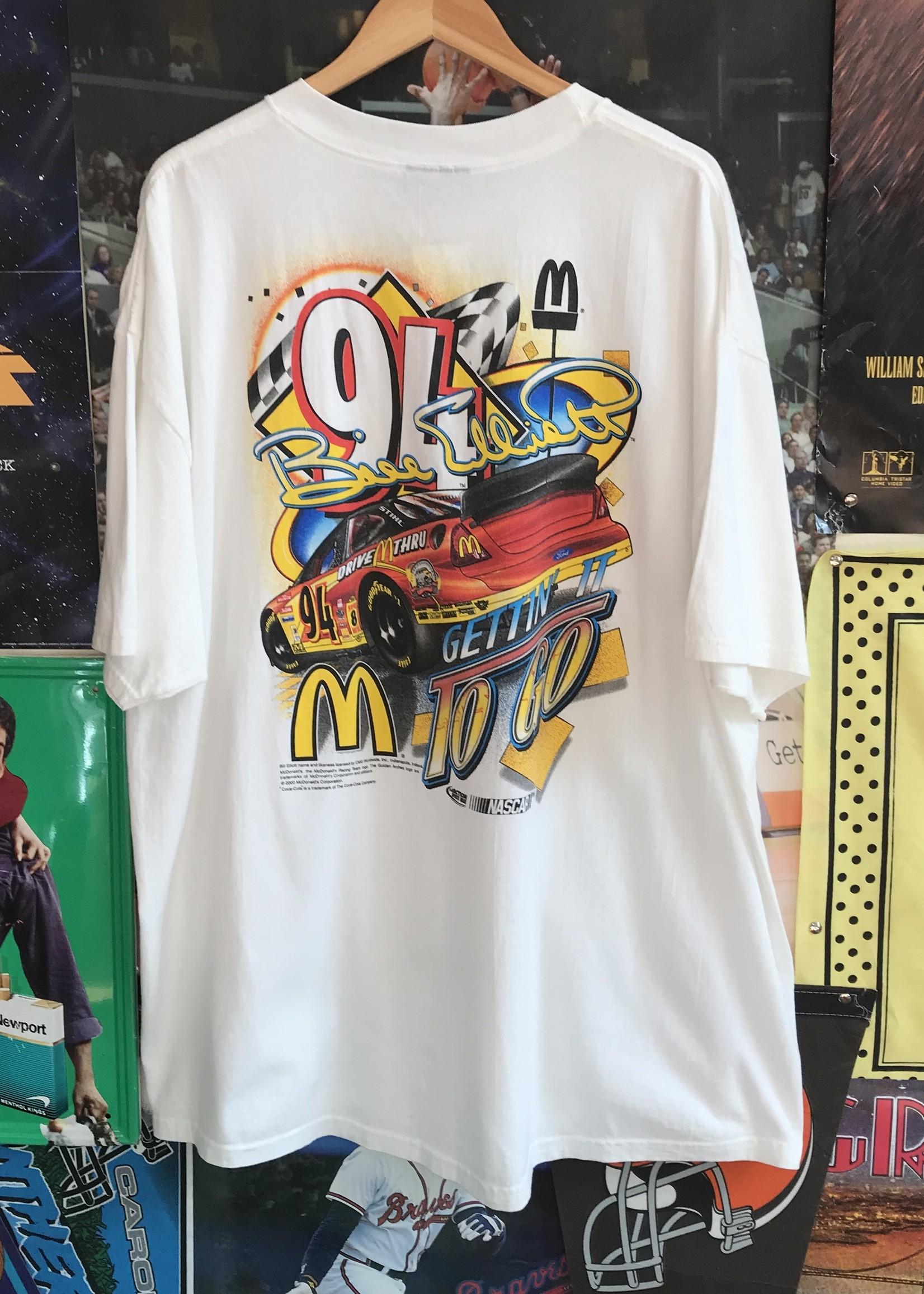 50132000 mcdonalds racing tee white sz 2XL