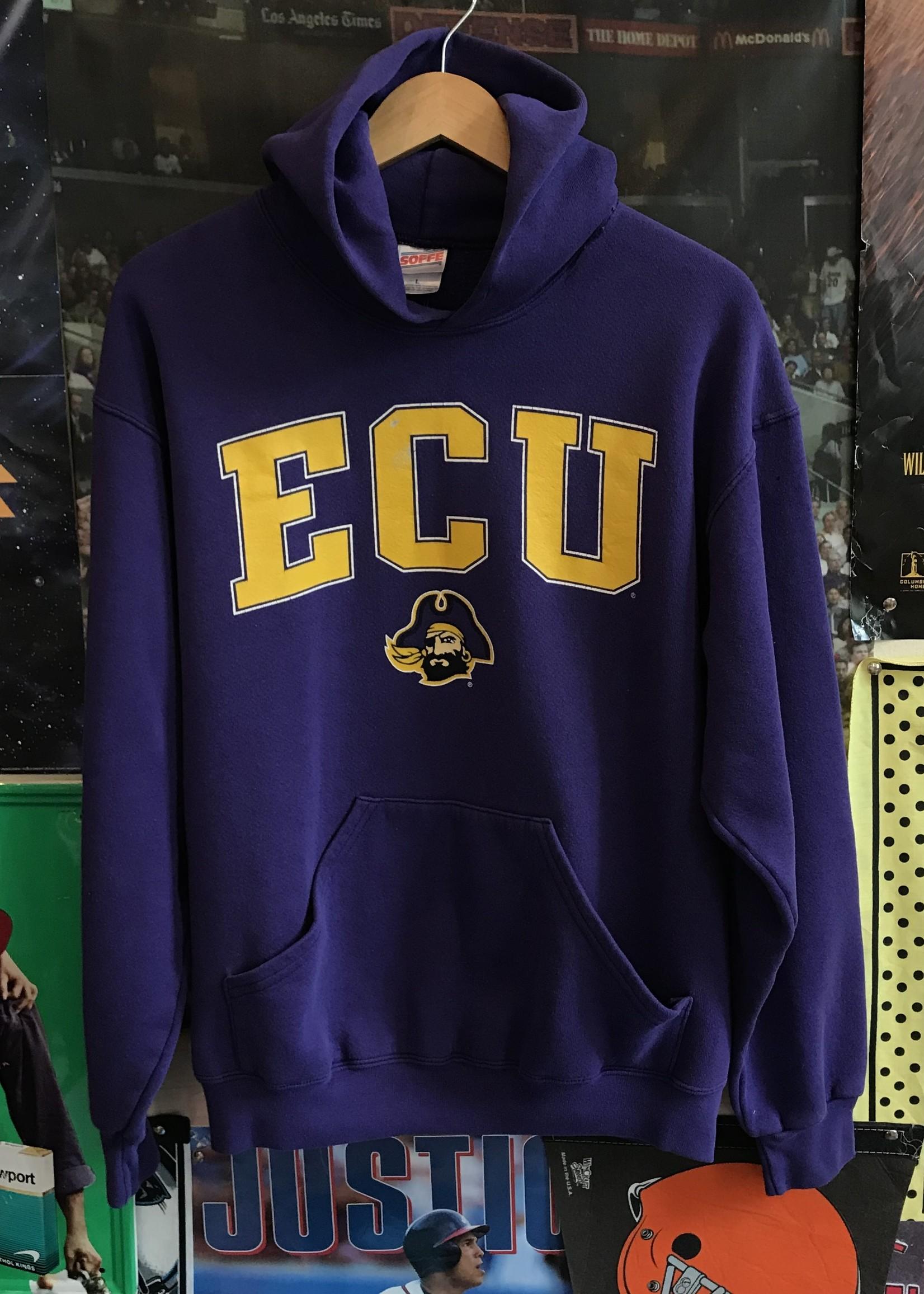 5033ecu hoodie purple sz L