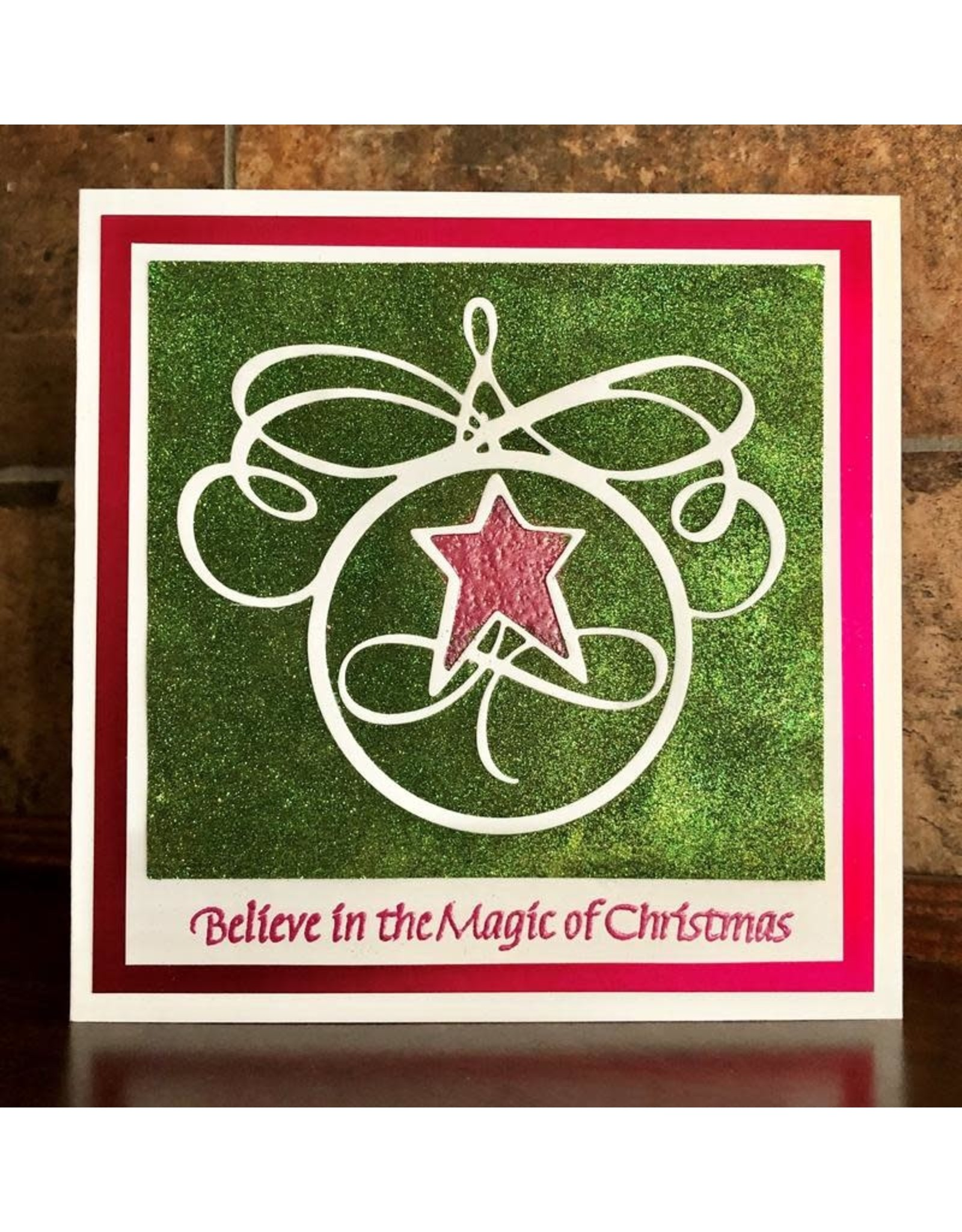 Elizabeth Craft Designs A Way With Words, Flourished Christmas Minis 2