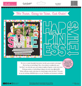 BELLA BLVD Happiness Cut Outs