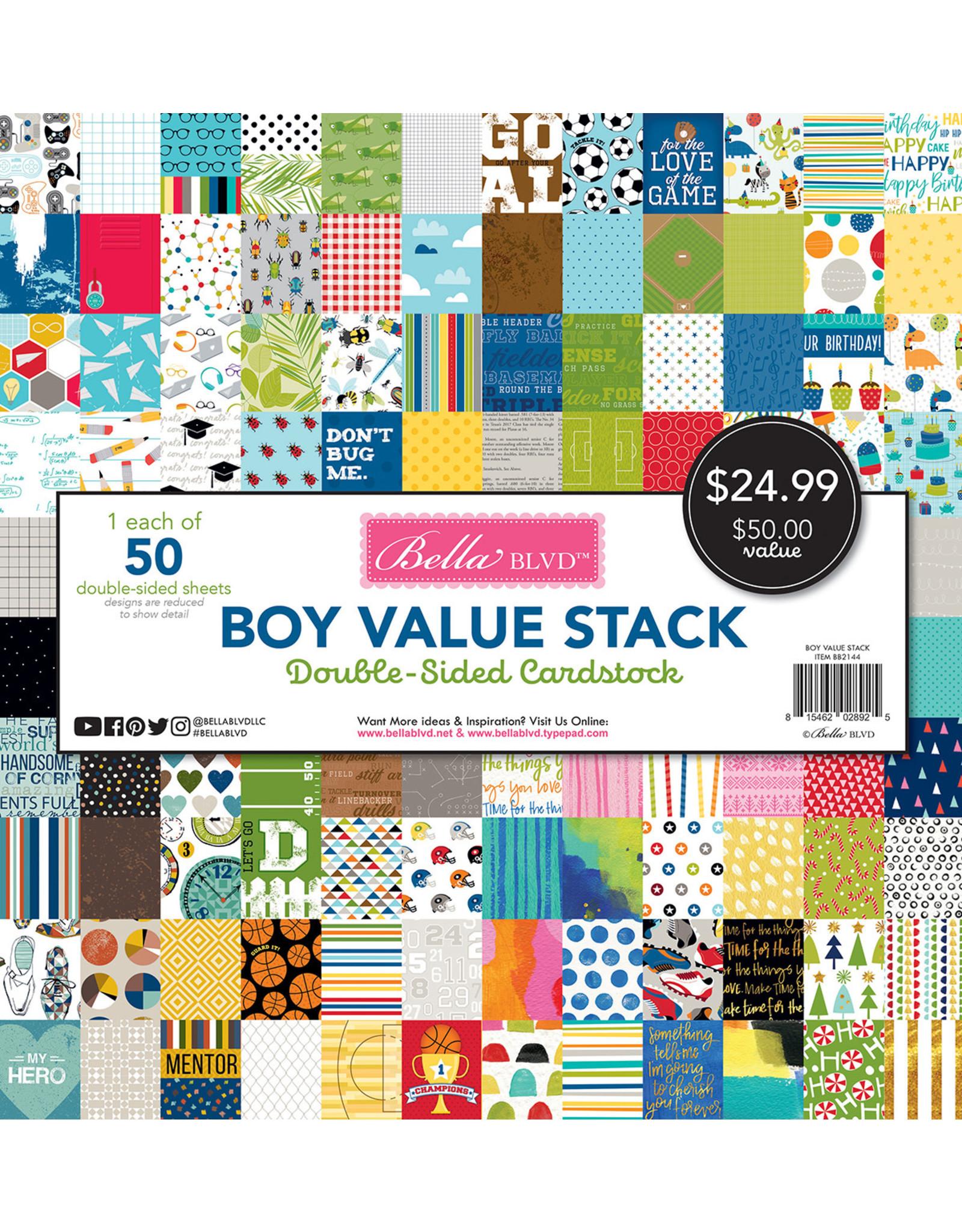 BELLA BLVD Boy Value Stack