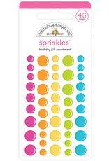 Doodlebug Design birthday girl sprinkles
