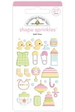 Doodlebug Design bath time shape sprinkles