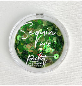 PICKET FENCE STUDIOS Sequin Mix, Creme de Menthe