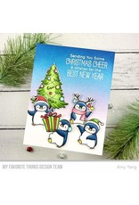 My Favorite Things BB Holiday Penquins Die-namics WS