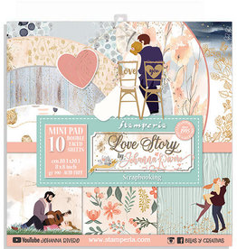 Stamperia Love Story 8x8 pad