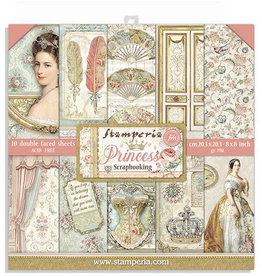 Stamperia Princess 8x8 pad