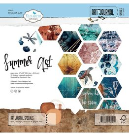 Elizabeth Craft Designs Summer Art 12x12 Patterned Paper