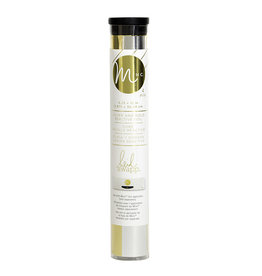 Heidi Swapp Minc - Reactive foil - 6 inch - combo - gold and silver - 12 inches each