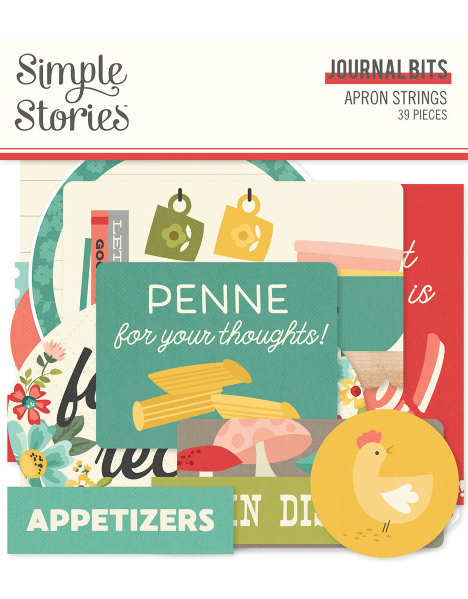 Simple Stories Apron Strings - Journal Bits