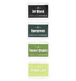 ALTENEW Green Fields Mixed Media Ink Bundle