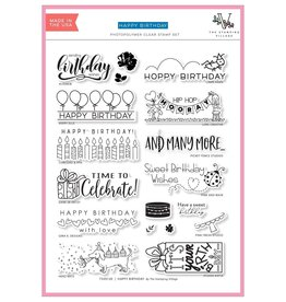The Stamping Village Happy Birthday Stamp Set by The Stamping Village