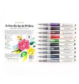 ALTENEW Watercolor Brush Markers - Spring Garden Set