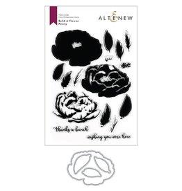 ALTENEW Build-A-Flower: Peony Layering Stamp & Die Set